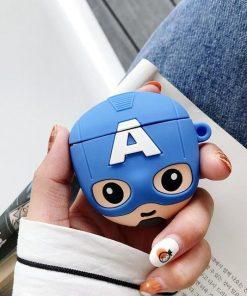 Baby Captain America 'Blue' Premium AirPods Case
