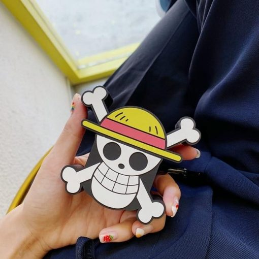 One Piece 'Logo' Premium AirPods Case Shock Proof Cover