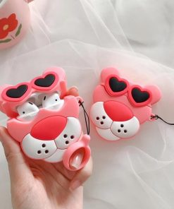 Pink Panther 'Heart Shades' Premium AirPods Case Shock Proof Cover