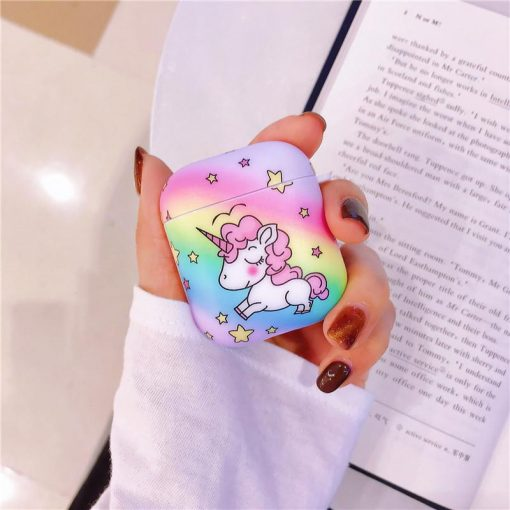 Rainbow Unicorn AirPods Case Shock Proof Cover