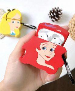 Little Mermaid 'Ariel' Premium AirPods Case Shock Proof Cover