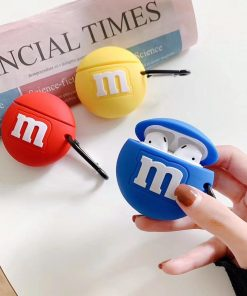 M&M's 'Yellow' Premium AirPods Case Shock Proof Cover