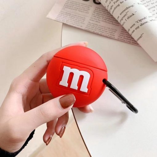 M&M's 'Red' Premium AirPods Case Shock Proof Cover