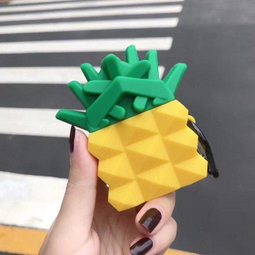 Pineapple 'Geometric' Premium AirPods Case Shock Proof Cover