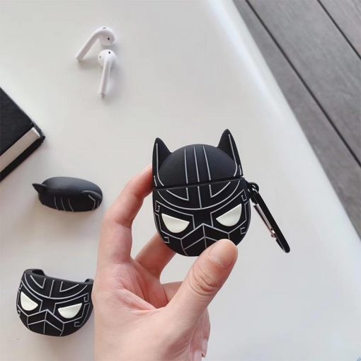 Black Panther 'Wakanda Forever' Premium AirPods Case Shock Proof Cover