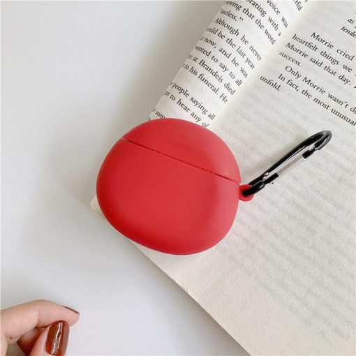 Candy Color Oval Airpods Case Shock Proof Cover