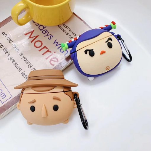 Toy Story Kid Woody Premium AirPods Case Shock Proof Cover