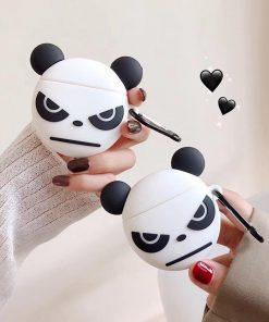 Angry Panda Premium AirPods Case Shock Proof Cover