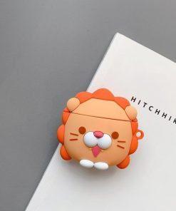Happy Lion Premium AirPods Case Shock Proof Cover