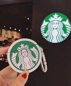 Starbucks Coffee Logo Premium AirPods Case Shock Proof Cover