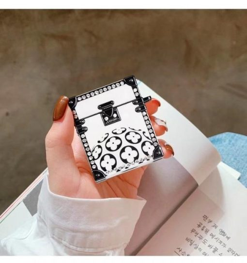 Luxury White Chest Premium AirPods Case Shock Proof Cover