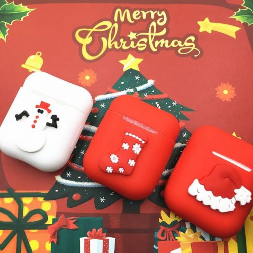 Christmas 'Snowman' AirPods Case Shock Proof Cover