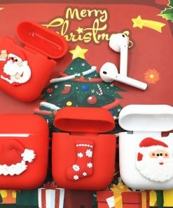 Christmas 'Red Stocking' AirPods Case Shock Proof Cover