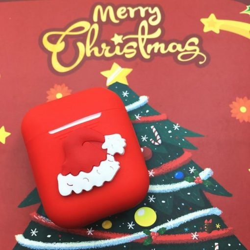 Christmas 'Santa Hat' AirPods Case Shock Proof Cover