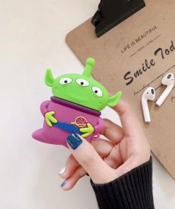 Toy Story Martian 'Purple Space Suit' Premium AirPods Case Shock Proof Cover