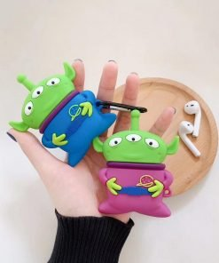 Toy Story Martian 'Blue Space Suit' Premium AirPods Case Shock Proof Cover