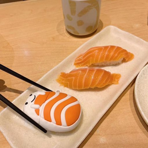 Cute Sushi 'Salmon Sashimi' Premium AirPods Case Shock Proof Cover