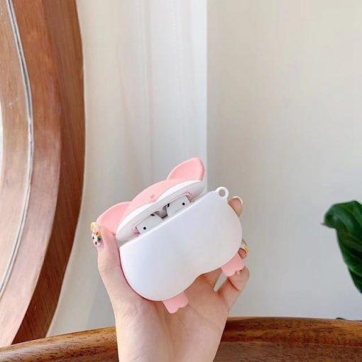 Cute Piggy Butt Premium AirPods Case Shock Proof Cover