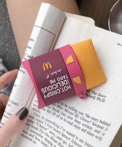 Mcdonald's Taro Pie Premium AirPods Case Shock Proof Cover