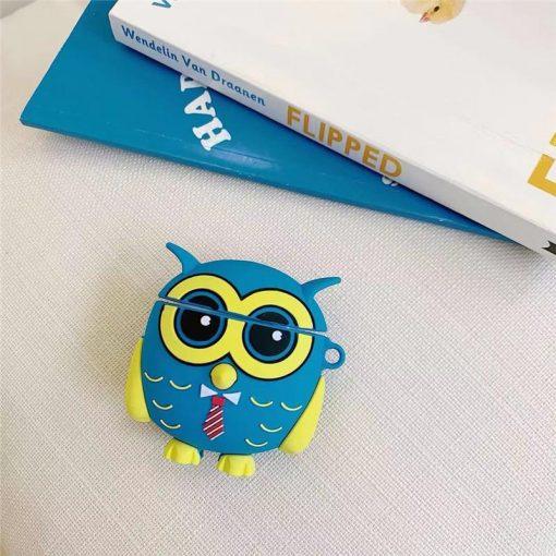 Wide Awake Owl Premium AirPods Case Shock Proof Cover