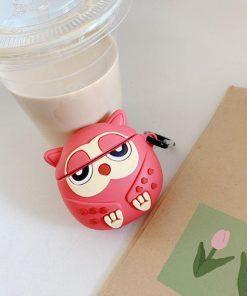 Sleepy Owl Premium AirPods Case Shock Proof Cover