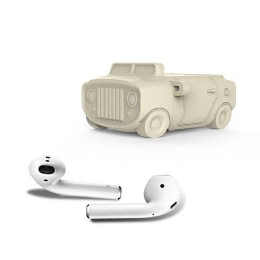 Classic Car Silhouette Premium AirPods Case Shock Proof Cover