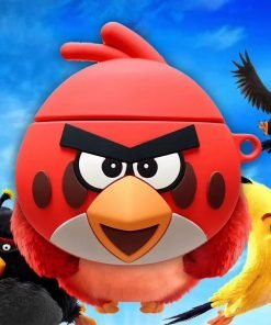 Angry Birds 'Focused Red' Premium AirPods Case Shock Proof Cover