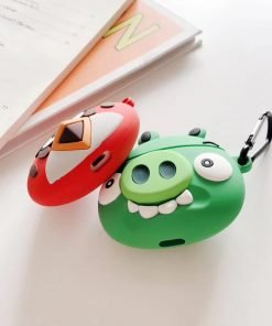 Angry Birds 'Green Pig' Premium AirPods Case Shock Proof Cover