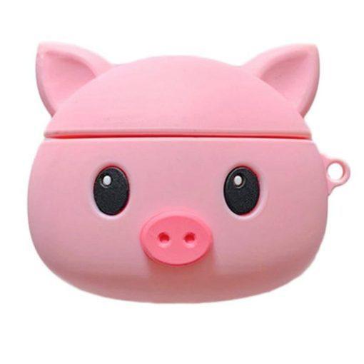 Round Piggy Premium AirPods Case Shock Proof Cover