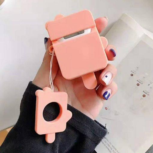 Orange Popsicle Premium AirPods Case Shock Proof Cover