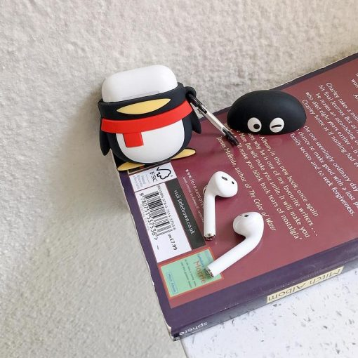 Winking Penguin Premium AirPods Case Shock Proof Cover
