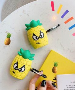 Angry Pineapple Premium AirPods Case Shock Proof Cover