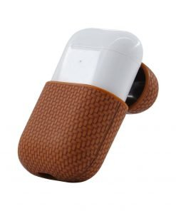 Woven Leather AirPods Case Shock Proof Cover