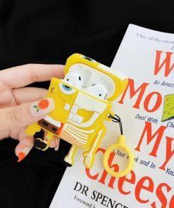 Spongebob Squarepants 'X-Ray Spongebob' Premium AirPods Case Shock Proof Cover