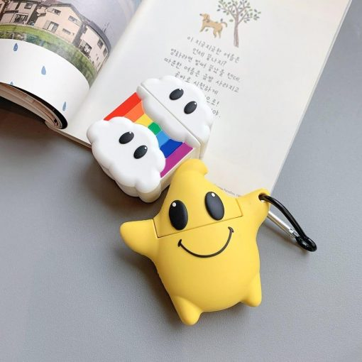 Happy Star Premium AirPods Case Shock Proof Cover