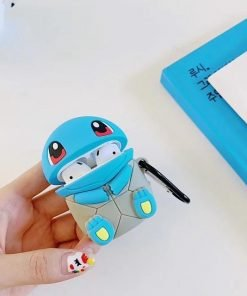 Pokemon 'Sitting Squirtle' Premium AirPods Case Shock Proof Cover