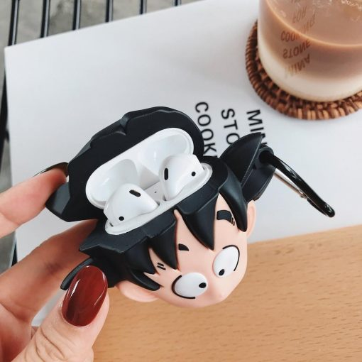 Dragon Ball Z 'Surprised Son Goku' Premium AirPods Case Shock Proof Cover