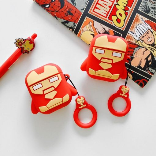 Iron Man 'Ready for Action' Premium AirPods Case Shock Proof Cover