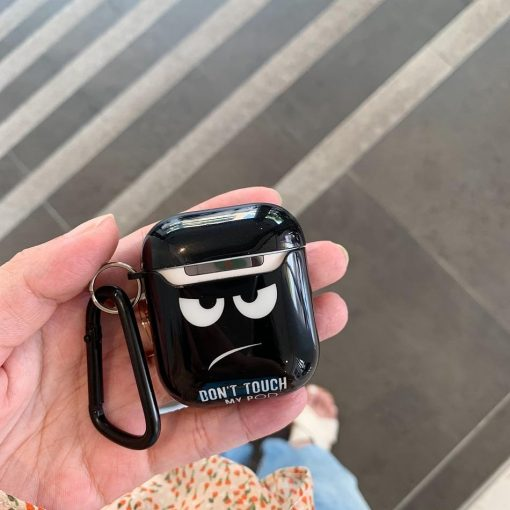 Grumpy 'Don't Touch My Pods' AirPods Case Shock Proof Cover