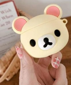 Blonde Teddy Premium AirPods Case Shock Proof Cover