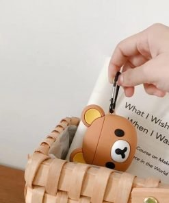 Brown Teddy Premium AirPods Case Shock Proof Cover