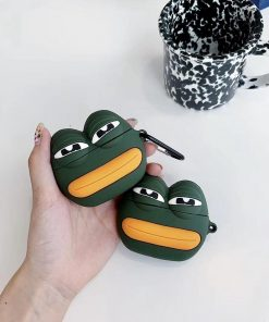 Pepe the Frog Premium AirPods Case Shock Proof Cover