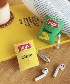 Potato Chips 'Lays Classic' Premium AirPods Case Shock Proof Cover