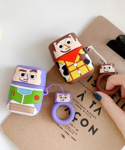 Toy Story 'Buzz Lightyear Cartoon' Premium AirPods Case Shock Proof Cover