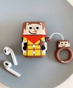 Toy Story 'Woody Cartoon' Premium AirPods Case Shock Proof Cover