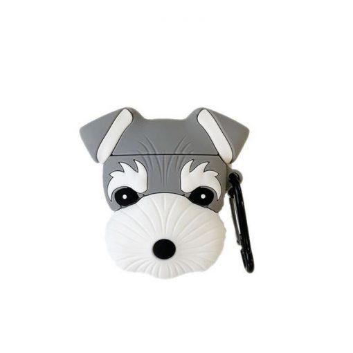 Schnauzer Dog Premium AirPods Case Shock Proof Cover