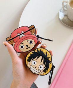 One Piece 'Tony Tony Chopper Comic' Premium AirPods Case Shock Proof Cover