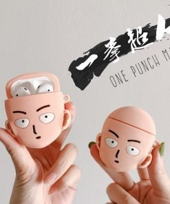 One Punch Man 'Serious Saitama' Premium AirPods Case Shock Proof Cover