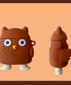 Standing Owl Premium AirPods Case Shock Proof Cover