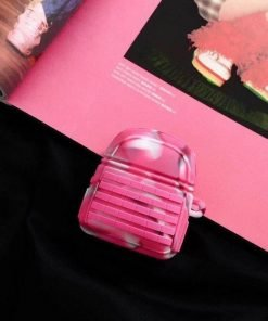 PUBG Pink Camo Backpack Premium AirPods Case Shock Proof Cover